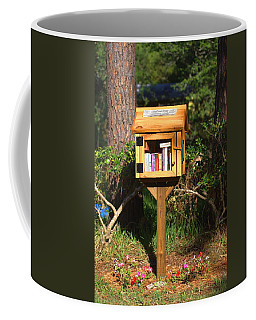 Coffee Mug featuring the photograph World's Smallest Library by Gordon Elwell