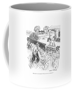 Would It Be Cheating If I Told You Where The Ball Coffee Mug