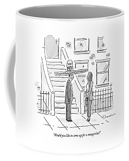 Would You Like To Come Up For A Margarita? Coffee Mug