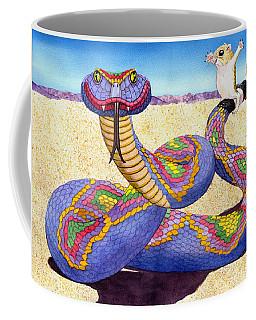 Wrangled Razzle Dazzle Rainbow Rattler Coffee Mug