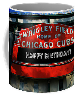 Wrigley Field -- Happy Birthday Coffee Mug