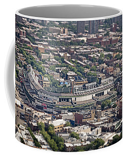 Wrigley Field - Home Of The Chicago Cubs Coffee Mug