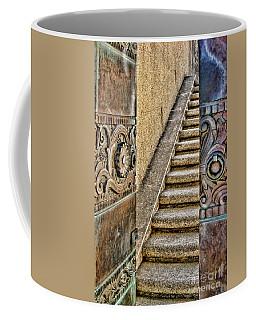 Wrigley's Bronze Doors By Diana Sainz Coffee Mug