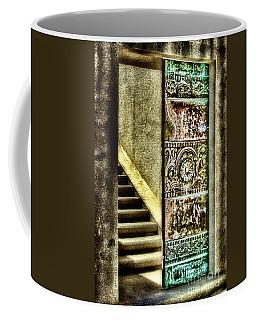 Wrigley's Tower Bronze Doors By Diana Sainz Coffee Mug