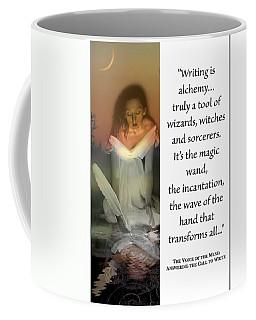 Writing Is Alchemy Coffee Mug
