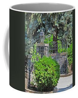 Wrought Iron Gate Coffee Mug