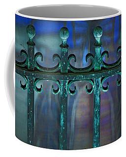 Coffee Mug featuring the photograph Wrought Iron by Rowana Ray