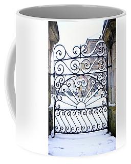Wrought Iron Snow Coffee Mug