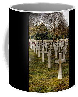 Coffee Mug featuring the photograph Ww II War Memorial Cemetery by Elf Evans