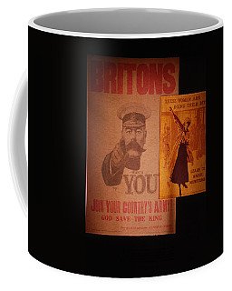Ww1 Recruitment Posters Coffee Mug