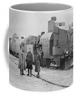 Wwi Armored Train, C1914 Coffee Mug