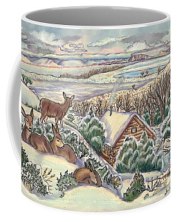 Wyoming Christmas Coffee Mug