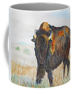 Wyoming - King Of The Prairie Coffee Mug