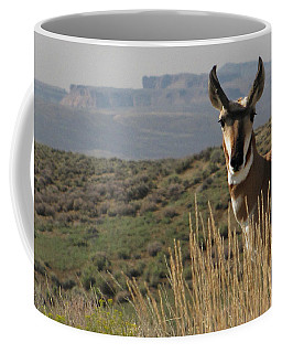 Wyoming Pronghorn Coffee Mug