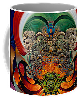 Xiuhcoatl The Fire Serpent Coffee Mug