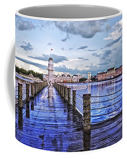 Yacht And Beach Club Lighthouse Coffee Mug