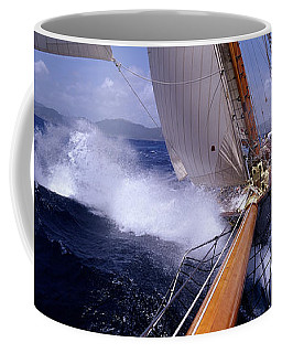 Yacht Race, Caribbean Coffee Mug