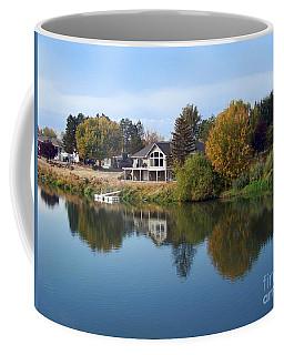 Yakima River Reflection Coffee Mug