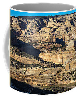 Yampa River Canyon In Dinosaur National Monument Coffee Mug by Nadja Rider