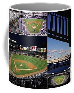 Yankee Stadium Collage Coffee Mug