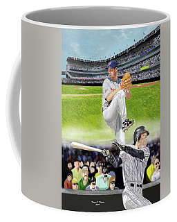 Yankees Vs Indians Coffee Mug