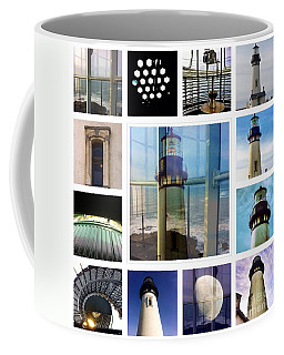 Yaquina Head Lighthouse Essence  Coffee Mug