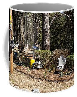 Yard Art Hwy 21 South Coffee Mug