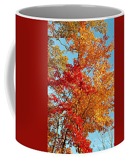Yellow And Red Coffee Mug by Patrick Shupert