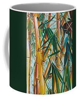 Yellow Bamboo Coffee Mug by Marionette Taboniar