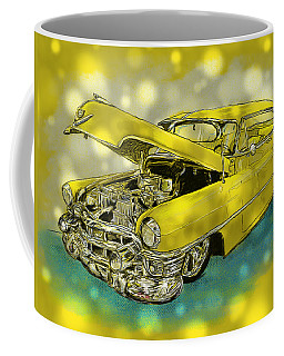 Yellow Cad Coffee Mug
