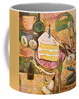 Yellow Cake Recipe Coffee Mug