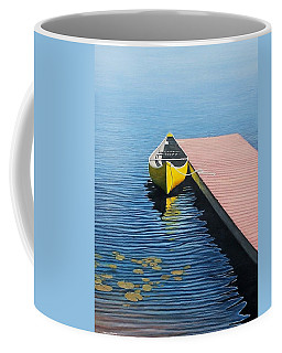 Yellow Canoe Coffee Mug