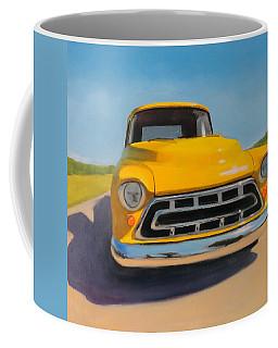 Yellow Chevy Coffee Mug