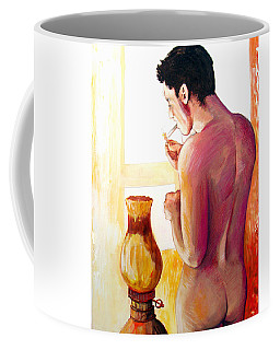 Yellow Cigarette  Coffee Mug