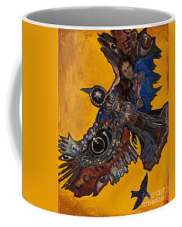 Yellow Crow Coffee Mug
