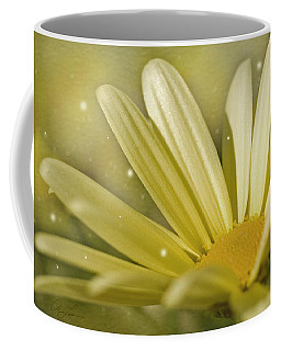 Yellow Daisy Coffee Mug by Ann Lauwers