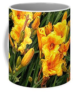 Yellow Daylilies Coffee Mug
