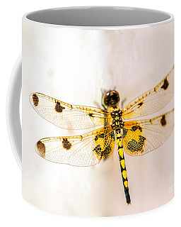 Yellow Dragonfly Pantala Flavescens Coffee Mug