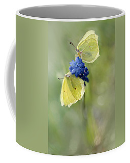 Yellow Duet Coffee Mug