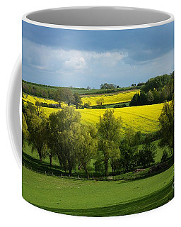 Yellow Fields In The Sun Coffee Mug