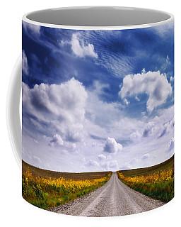 Yellow Flower Road Coffee Mug
