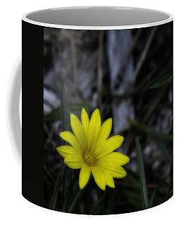Yellow Flower Soft Focus Coffee Mug