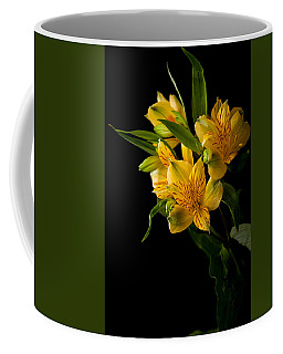 Coffee Mug featuring the photograph Yellow Flowers by Sennie Pierson