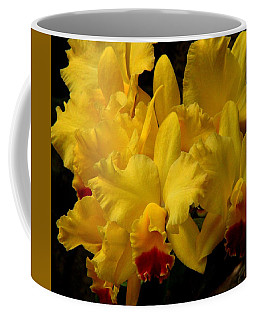 Yellow Folds Coffee Mug