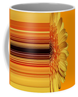 Yellow Gold Coffee Mug