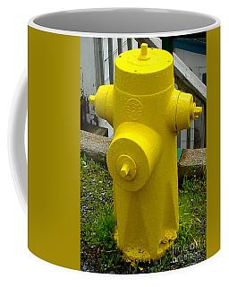Yellow Hydrant Coffee Mug
