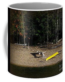 Yellow Kayak Coffee Mug