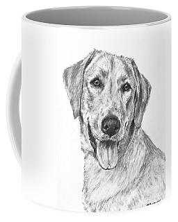 Yellow Lab Head And Shoulders Coffee Mug
