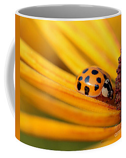 Yellow Lady - 1 Coffee Mug