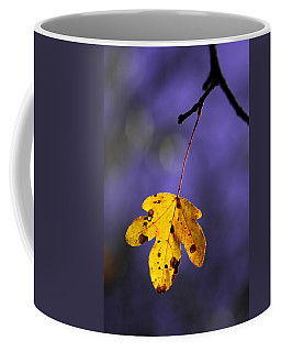 Yellow Leaf Coffee Mug